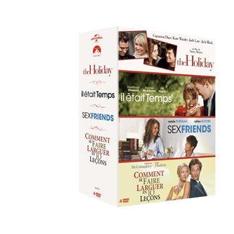 Coffret Romantique 4 films DVD
