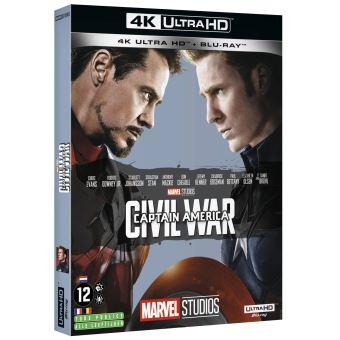 Captain AmericaCaptain America : Civil War Blu-ray 4K Ultra HD