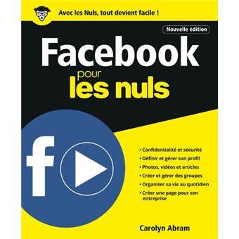 Pour les Nuls - Poche Pour les Nuls 6ème Edition : Facebook