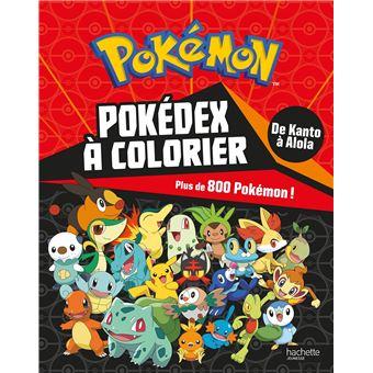 Les PokémonL'intégrale à colorier