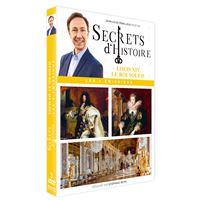Coffret Secrets d'histoire Louis XIV le roi soleil DVD