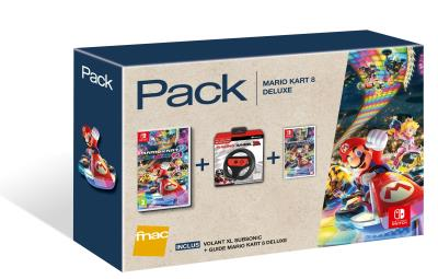 Pack Fnac Mario Kart 8 Edition Deluxe Nintendo Switch