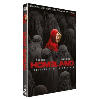 HomelandSaison 4 - Coffret DVD