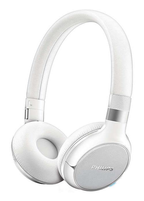 Casque Audio Philips SHB9350 Bluetooth Blanc