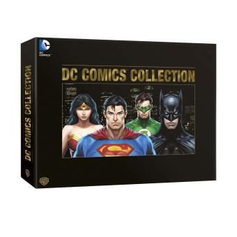DC animatedDC Comics L'âge d'or Edition limitée et numérotée Coffret DVD Inclus livre