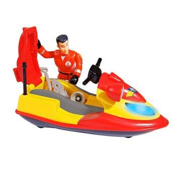 Playset Océan Jet-ski Junon avec figurine Elvis Sam le Pompier Smoby