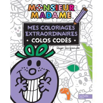 Monsieur Madame Colos Codes Monsieur Madame Mes Coloriages
