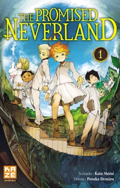The Promised Neverland T01 - 9782820333698 - 4,99 €