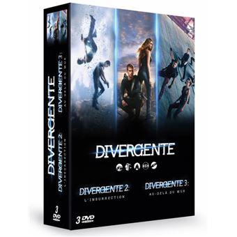 DivergenteDivergente La trilogie Coffret DVD