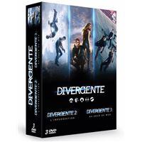 Divergente La trilogie Coffret DVD