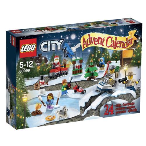 Calendrier Lego City.Lego City 60099 Le Calendrier De L Avent