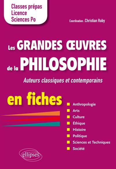 Les grandes œuvres de la philosophie en fiches