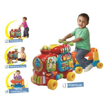 porteur interactif complet cadeau ideal 1 an 12 18 mois noel anniversaire