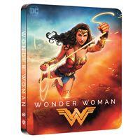 Wonder Woman Edition Comic Steelbook Blu-ray 4K Ultra HD