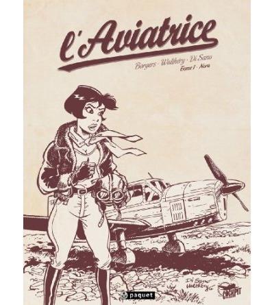 L'aviatrice T1 Edition Crayonnée