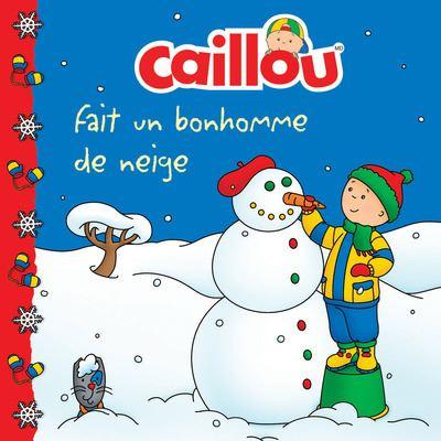 Caillou fait un bonhomme de neige