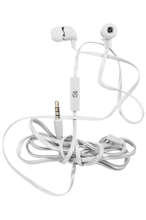 Ecouteurs R-Music Kit Mains-Libres Blancs
