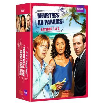 Meurtres au paradisCoffret Meurtres au paradis Saisons 1 à 3 DVD