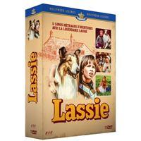 Coffret Lassie L'intégrale des films Hollywood Junior DVD