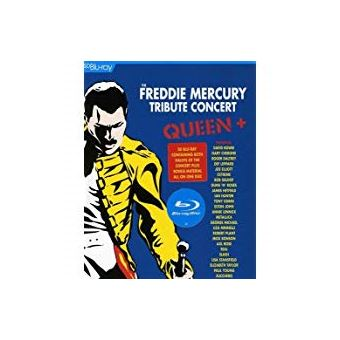 The Freddie Mercury tribute concert Blu-Ray SD