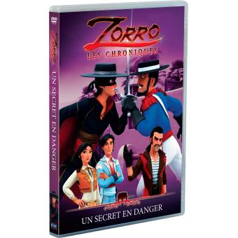 Zorro (Le dessin animé)Zorro Volume 4 Un secret en danger DVD