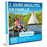 SMAR Coffret cadeau Smartbox 2 jours insolites en famille