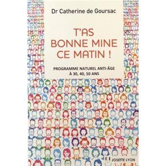 T As Bonne Mine Ce Matin Broche Catherine De Goursac Achat