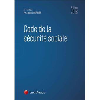 Code De La Securite Sociale 2018 Relie Philippe Coursier Achat