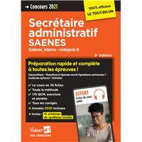 Concours secrétaire administratif SAENES