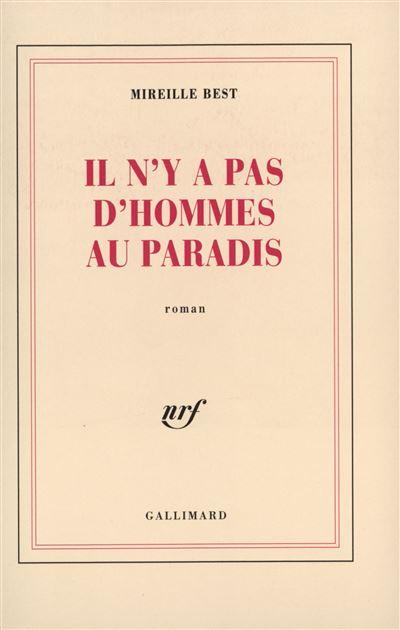 Il n´y a pas d´homme aux paradis - Gallimard