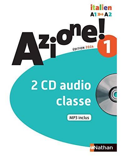 Azione ! Niveau 1 2014 - 2 cd audio classe