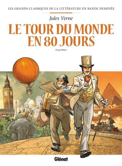 Le Tour du monde en 80 jours en BD