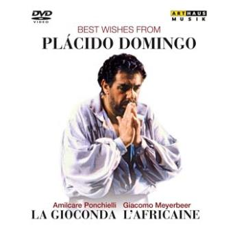 Best wishes From Placido Domingo, La Gioconda, L'Africaine DVD