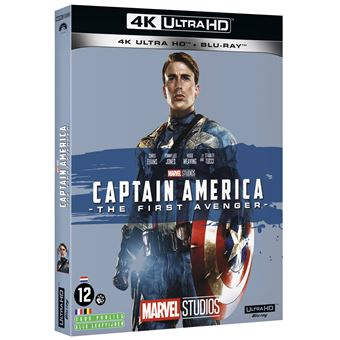 Captain AmericaCaptain America: The First Avenger Blu-ray 4K Ultra HD