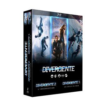 DivergentDivergente La trilogie Coffret Blu-ray