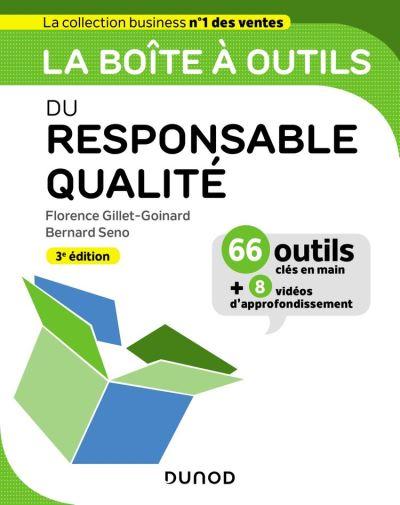 La boîte à outils du responsable qualité - 3e ed. - 9782100800148 - 14,99 €
