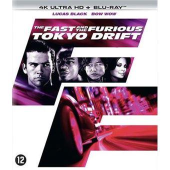 FAST & FURIOUS 3 : TOKYO DRIFT -BIL-BLURAY 4K