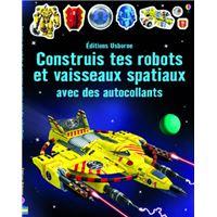 Construis tes robots et vaisseaux spatiaux avec des autocollants