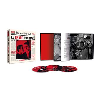 Le grand chantage Edition Collector Blu-ray + 2 DVD + Livre 224 pages