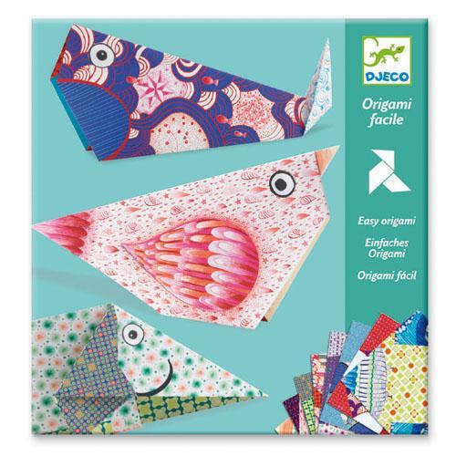 Origami facile Les grands animaux Djeco