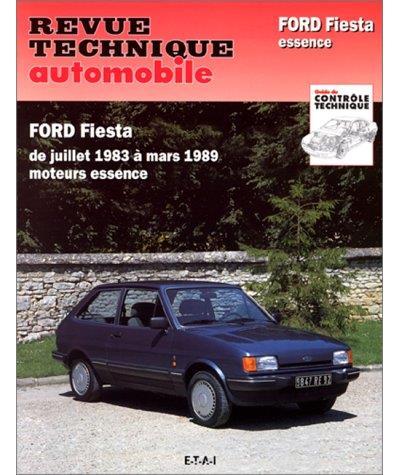 Revue technique automobile 449.4 Ford Fiesta essence (1984/1989)