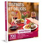 SMAR Coffret cadeau Smartbox Bistrots et délices