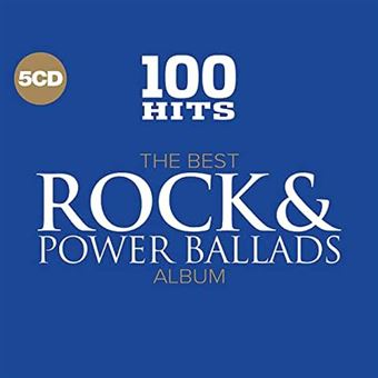 100 HITS-THE BEST ROCK AND POWER BALLADS/5CD