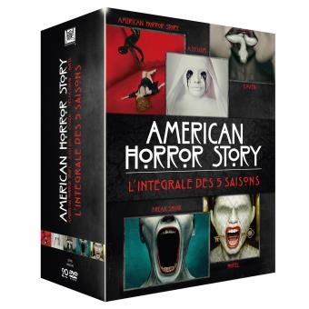 American Horror StoryAmerican Horror Story Intégrale Saison 1 à 5 Coffret DVD