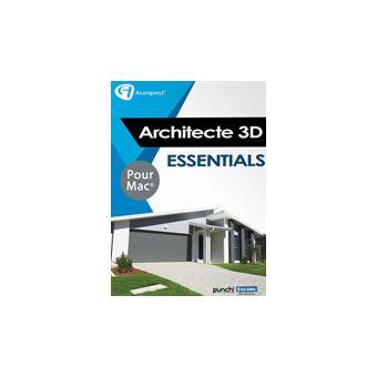 architecte 3d essentials 2017 (v19) - mac, logiciel à