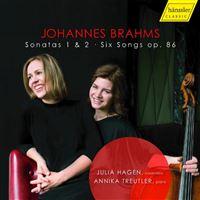 BRAHMS:SONATAS 1 & 2/2CD