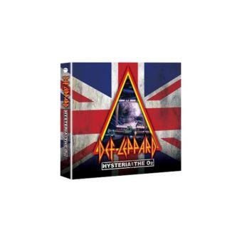 Hysteria at The O2 - 2CD + Blu-ray