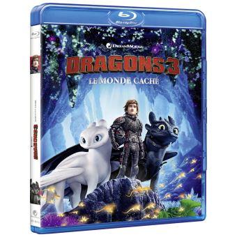 Dragons, cavaliers de BeurkDragons 3 : Le Monde Caché Blu-ray
