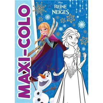 Frozen, La reine des neigeMaxi colo