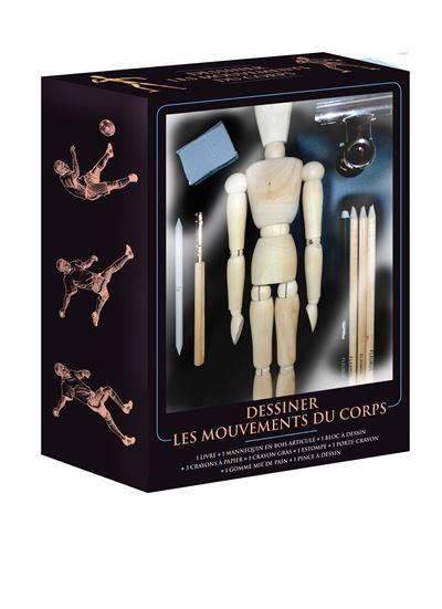Coffret dessiner les mouvements du corps